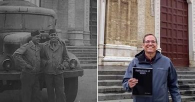 Dopo 75 anni sulle orme del papà pilota americano: la storia di David