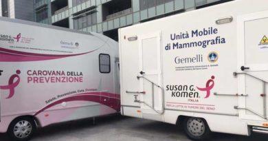 La carovana della prevenzione arriva a Cerignola il 23 novembre