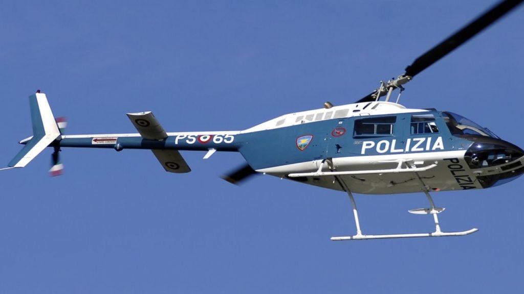 Marchiodoc - Elicottero Polizia