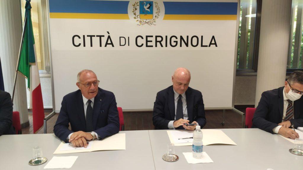 Sicurezza, più videocamere a Cerignola: ecco il protocollo con la Prefettura