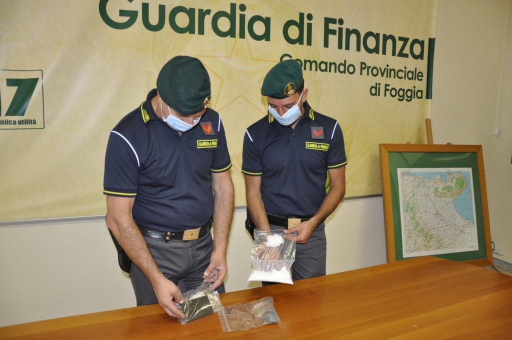 Droga dalla Provincia di Foggia all'Abruzzo: sgominata la banda