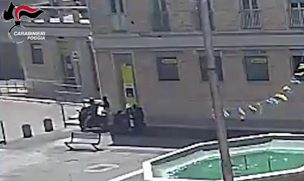 VIDEO   Assalto al Postamat di Cerignola, presi i malviventi