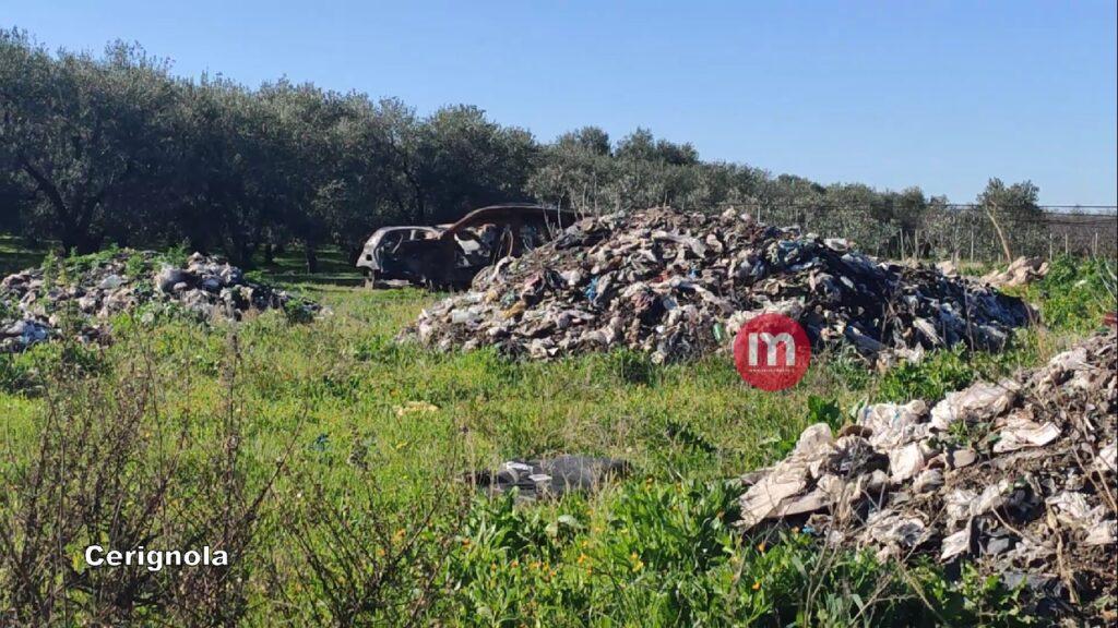 VIDEO | Cerignola, nelle terre del traffico illecito dei rifiuti