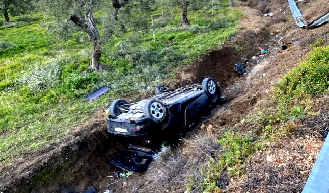 Ancora un incidente a Cerignola: auto fuori strada sulla SS16