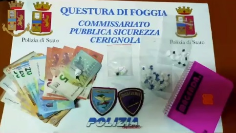 Marchiodoc - Arresto Droga Trinitapoli