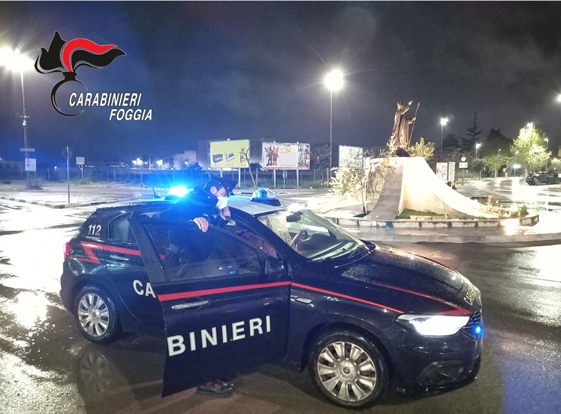 Ricettazione, un arresto a Cerignola (dopo inseguimento)