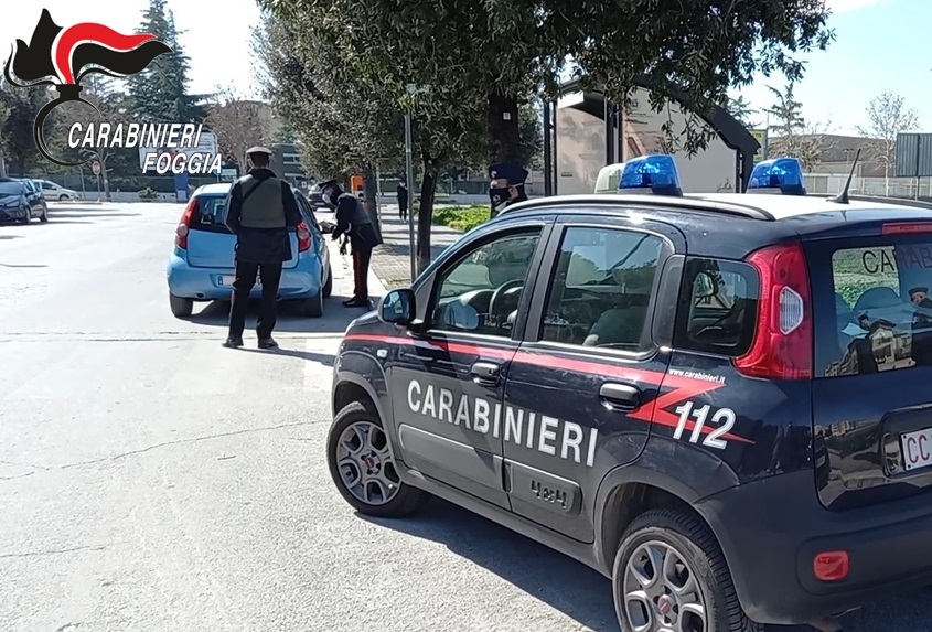 Cerignola, controlli a tappeto: tre arresti