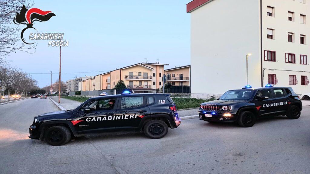 Cerignola, arrestati mentre rubavano pneumatici