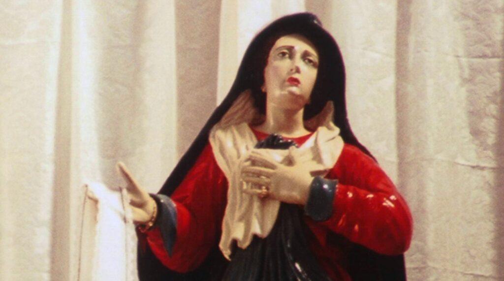 La statua dell'Addolorata scolpita da Brudaglio per la chiesa di Cerignola
