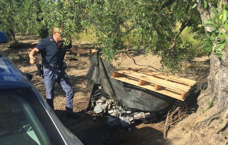Cerignola, riciclaggio di autovettura rubata: un arresto
