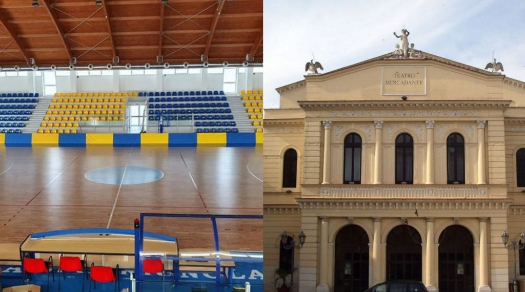 Cerignola (al contrario di Manfredonia) è pronta al voto: PalaTatarella e Teatro in arrivo