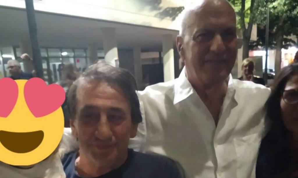 Fair play da campagna elettorale: Giannatempo va a salutare Bonito dopo il comizio