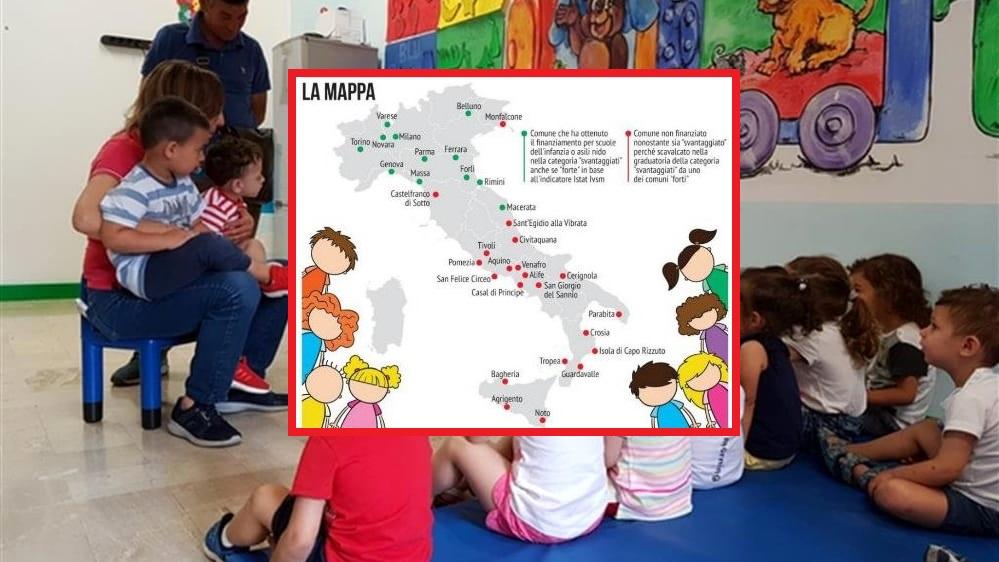 Scuole per l'infanzia, Cerignola penalizzata dal Governo: esclusa dai finanziamenti